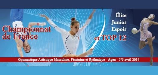 Championnat de France Elite et top 12 à Agen: l'Ain en 1ere ligne !!