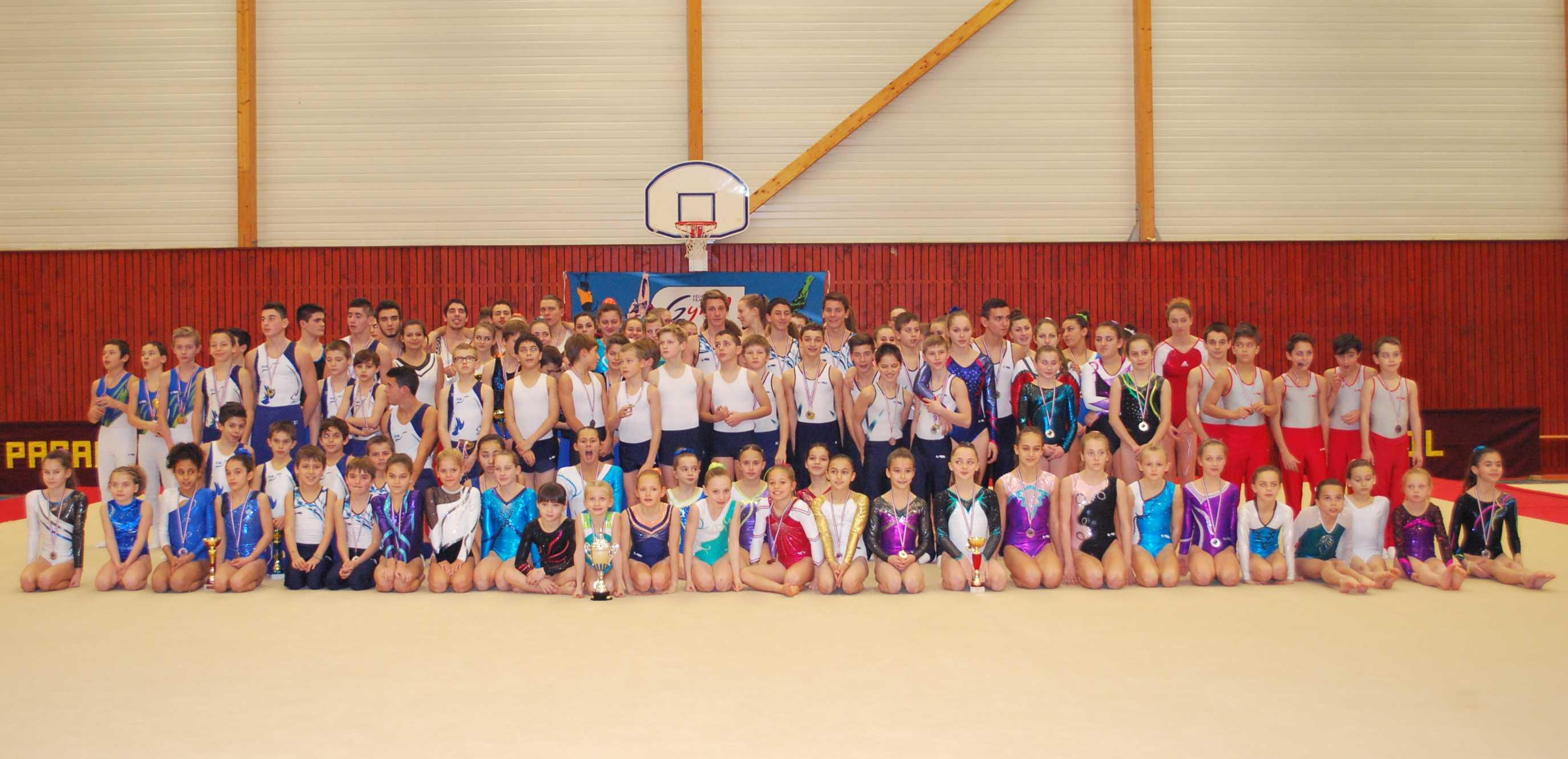 Championnat individuel GA, Tournoi GAM et Gymnovice, La Boisse
