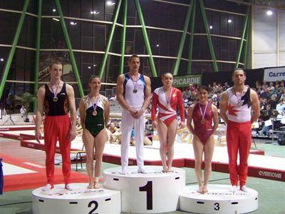 Championnat de France Individuel , 2 podiums pour l'Ain !!