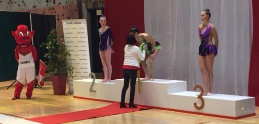 Championnats Interdépartementaux Est GR individuels à Bourg en Bresse