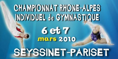 Gymnastique artistique - Championnat régional Individuel - 6/7 Mars - Résultats
