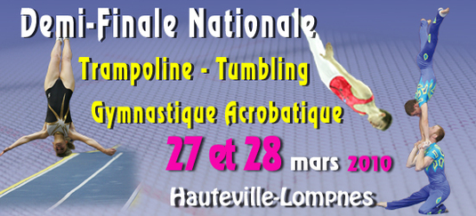 Compétition Finale Zone Sud-Est Trampoline-FIR-GAC-TU