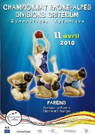 Championnat Régional DC GR Fareins - Résultats