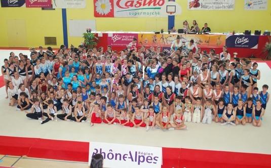 Gymnastique artistique - Championnat régional DIR - BOURG EN BRESSE 29/30 MAI 2010 - Les résultats