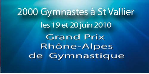 Grand Prix Rhone-Alpes - 19 et 20 juin 2010 - Saint Vallier.