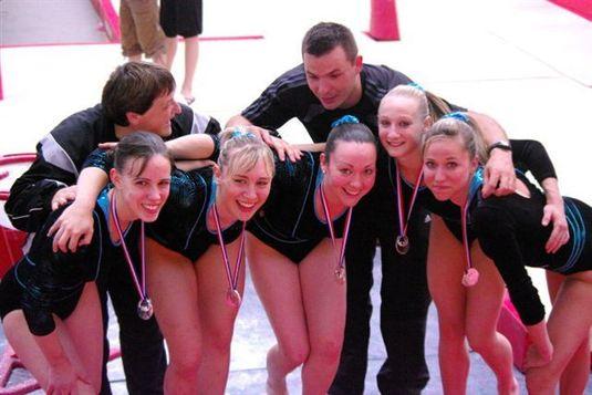 Championnat de France gymnastique artistique DN 3 à 8 et DC Châlons-en-champagne 4-5-6 juin