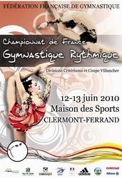 Championnat de France GR Divisions Critérium les 12 et 13 Juin Clermont Ferrand