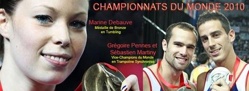 Championnats de Monde  Trampoline Tumbling de Metz