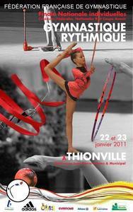 Championnat de France Individuels GR les 22 et 23 Janvier à Thionville