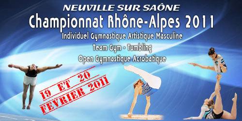 Gymnastique artistique - teamgym - tumbling et gym acrobatique - Neuville /Saône-