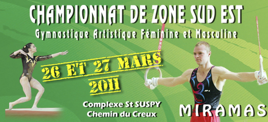 1/2 Finale Zone Sud-Est Individuel GAF GAM - 26 et 27 mars 2011 - Miramas