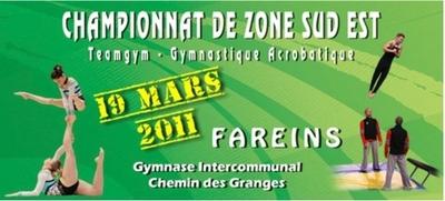 Championnat de Zone Teamgym et Gym Acrobatique
