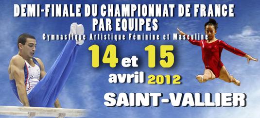 Compétition Zone par Equipe GAF GAM - DN/DF/DC les 14 et 15 Avril à Saint Vallier - Les résultats