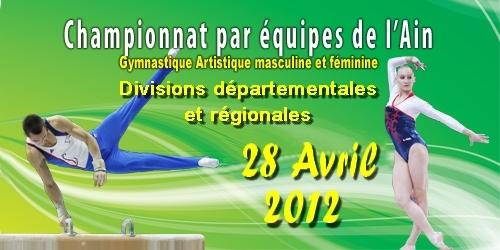 Compétition GAF GAM DR DD du 28 avril 2012 à Bellegarde - Les résultats / les photos