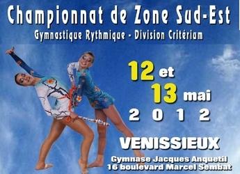 Zone Sud-Est Divisions Critériums GR - 12 et 13 mai 2012 - Vénissieux - Résultats