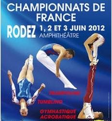 Championnat de France: GAC, Trampo, Tumbling - RODEZ - 1/2/3 juin 2012