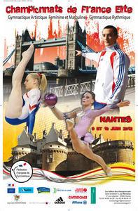 Championnat de France Elite, Junior, Espoir, Avenir GAM, GAF, GR - les 09 et 10 juin à Nantes