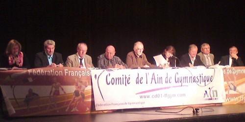 AG du CD Ain le 29 septembre à Bellegarde, les élus: