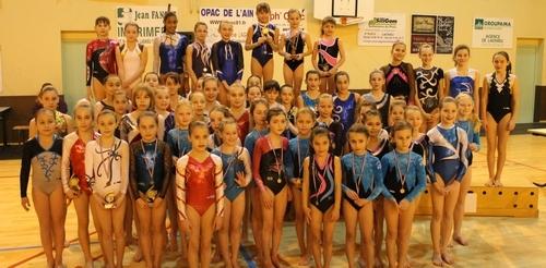 Championnat départemental individuels le 9 février 2013- Résultats