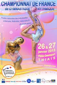 Championnat de France Individuelle GR - 26 et 27 Janvier - Thiais Résultats