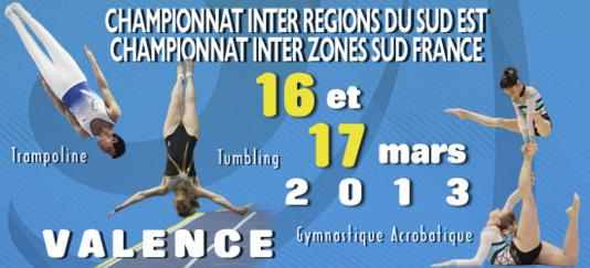 FIR TR/TU/GAc et INTER ZONE GAc et TU - Teamgym Région - Valence - 16 et 17 Mars Résultats