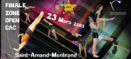 OPEN GAC - 23 MARS 2013 - St Amand Montrond