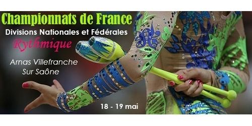 Finale DN et DF en GR à Villefranche s/Saône 18 et 19 mai - Résultats