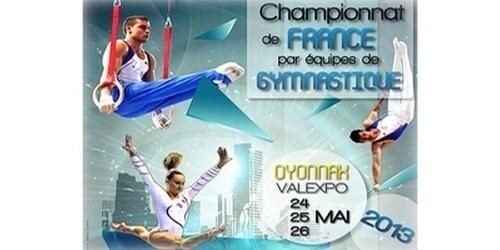 Championnat de France de gymnastique artistique DN à Oyonnax- Résultats