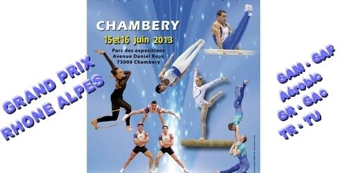 Grand Prix Rhône-Alpes 15 et 16 Juin - Chambéry - Résultats