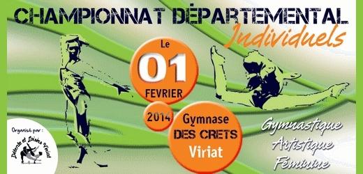 Championnat individuel GAF à Viriat le 1er février les résultats
