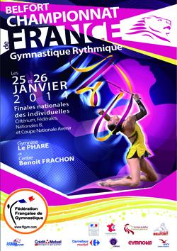 Championnat de France Individuel GR - 25/26 Janvier 2014 - Belfort - Résultats