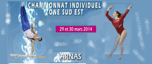 Championnat de zone Sud-Est individuel GAM-GAF- 29 et 30 mars - ARNAS - RESULTATS