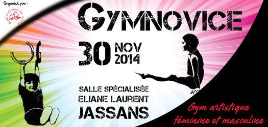 GYMNOVICE du 30 novembre à Jassans: Résultats