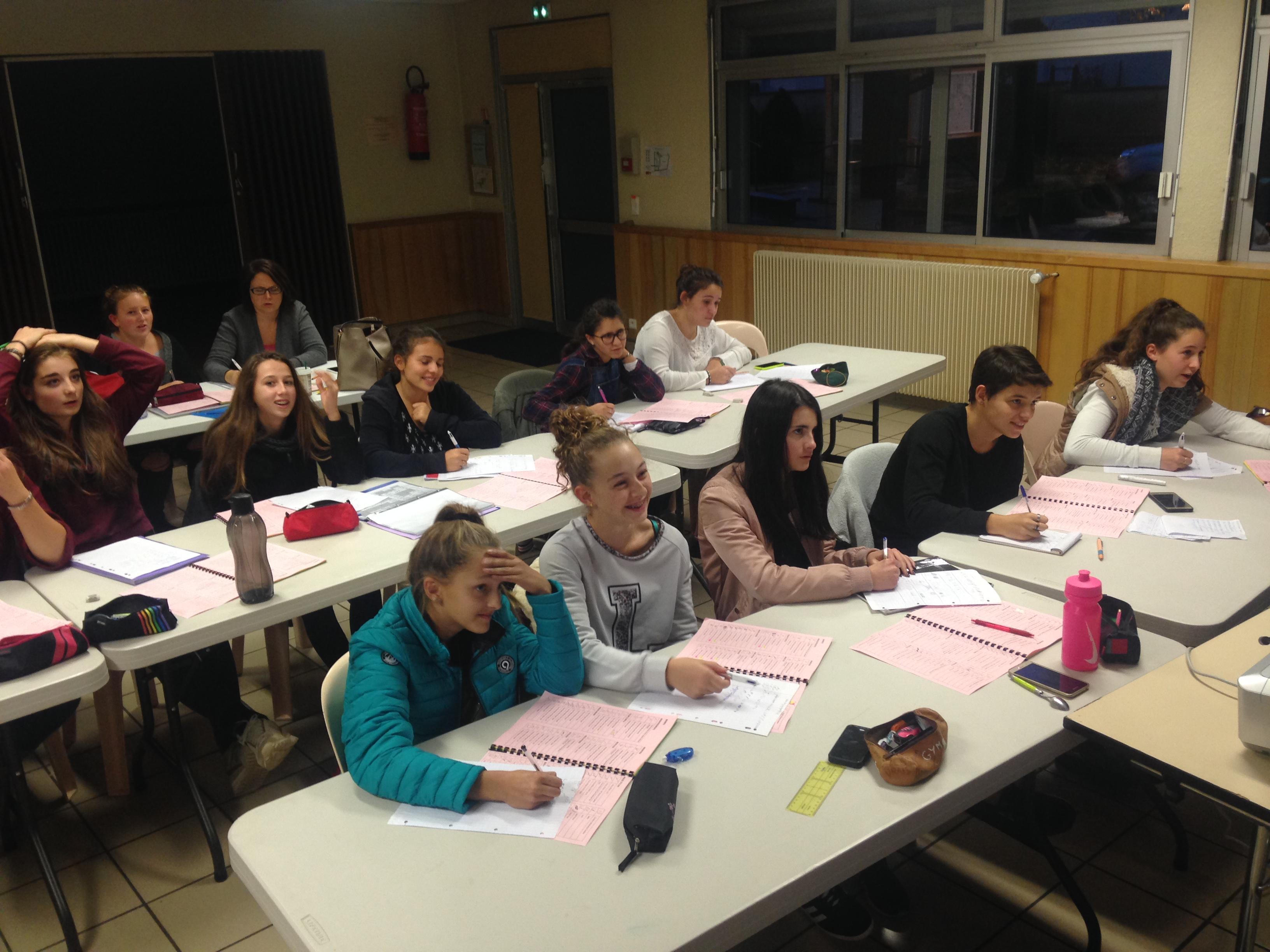 Formation juges 1 GAF: Samedi 5 novembre