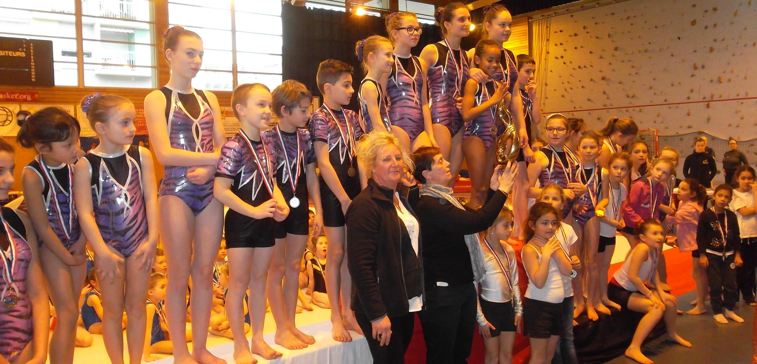 Championnat départemental indiv GAF GAM et Gymnovice GA GAc - Résultats