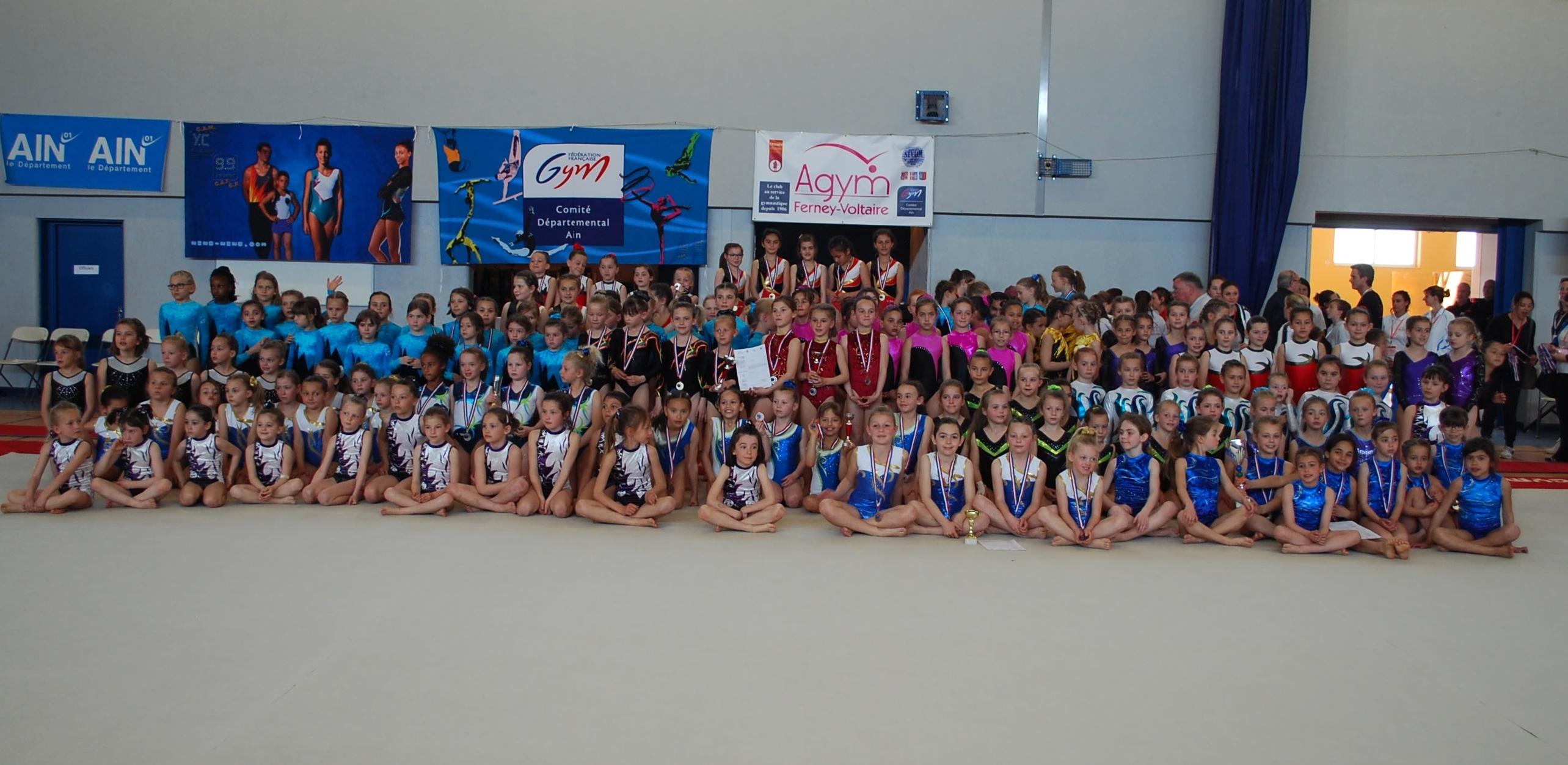 Championnat des DR et DD en gym artistique à Ferney Voltaire - Résultats