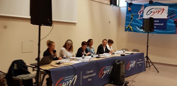 Assemblée générale du comité à Bellegarde