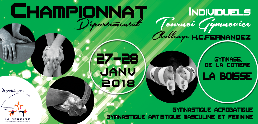 Championnat départemental individuels & Gymnovice Montluel/La Boisse : Résultats