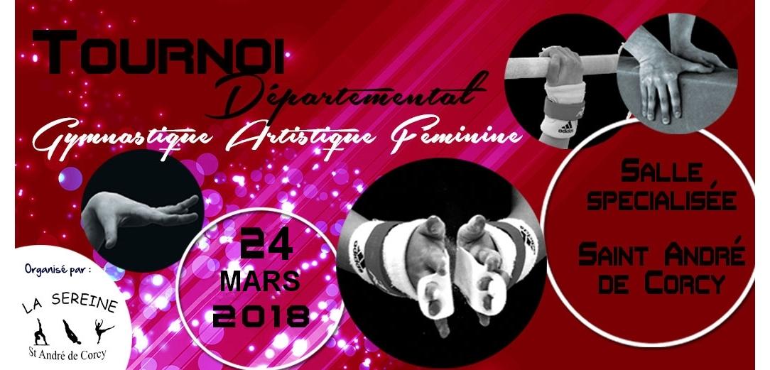 1 er Tournoi GAF de St André de Corcy le 24 Mars MAJ le 20/03