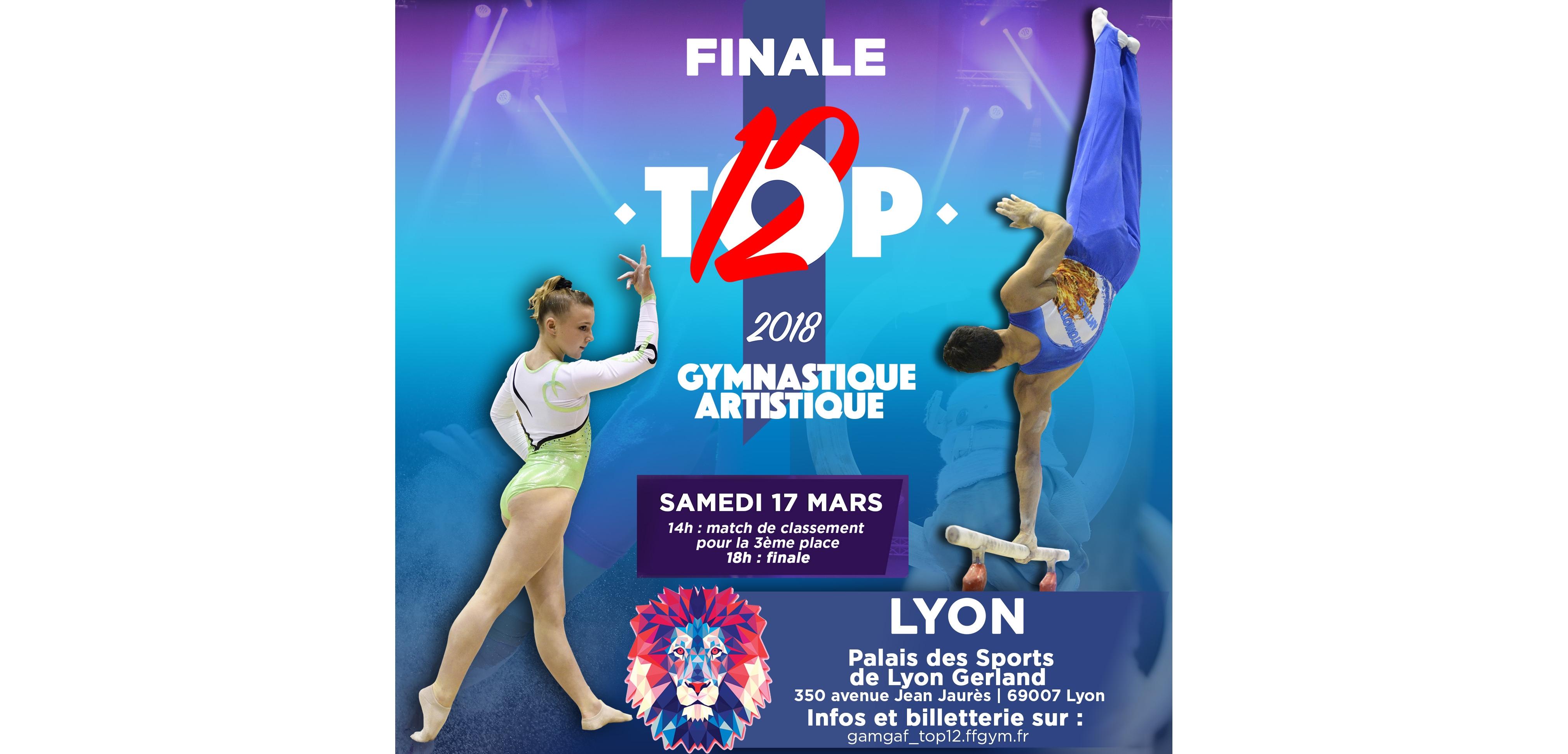 Finale du TOP 12 à Lyon Gerland
