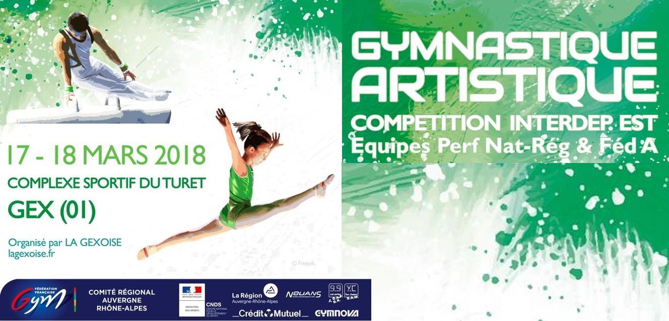 Championnat Inter départemental Equipes Gym Artistique à Gex