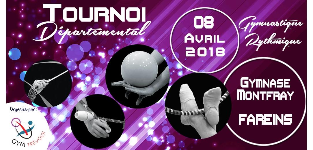 Tournoi GR à Fareins Trévoux le 8 avril Résultats