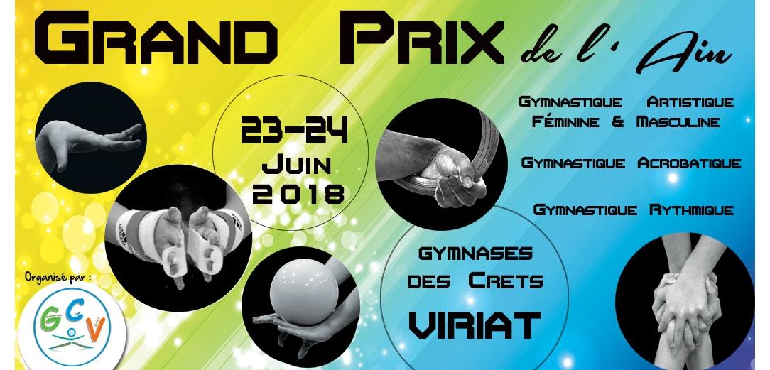 Grand Prix de l'Ain Viriat 2018 Les résultats