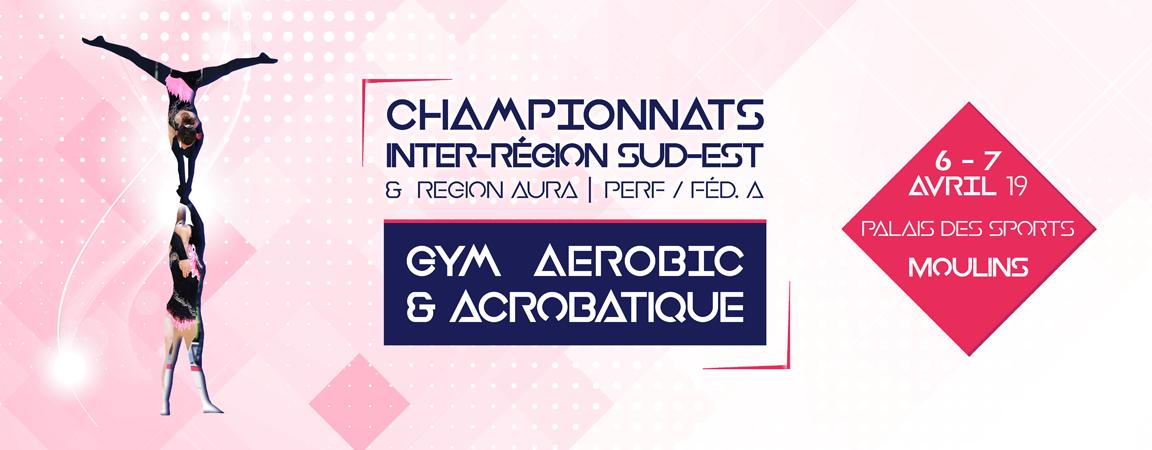 Championnat inter régions en GAc et Aérobic à Moulins