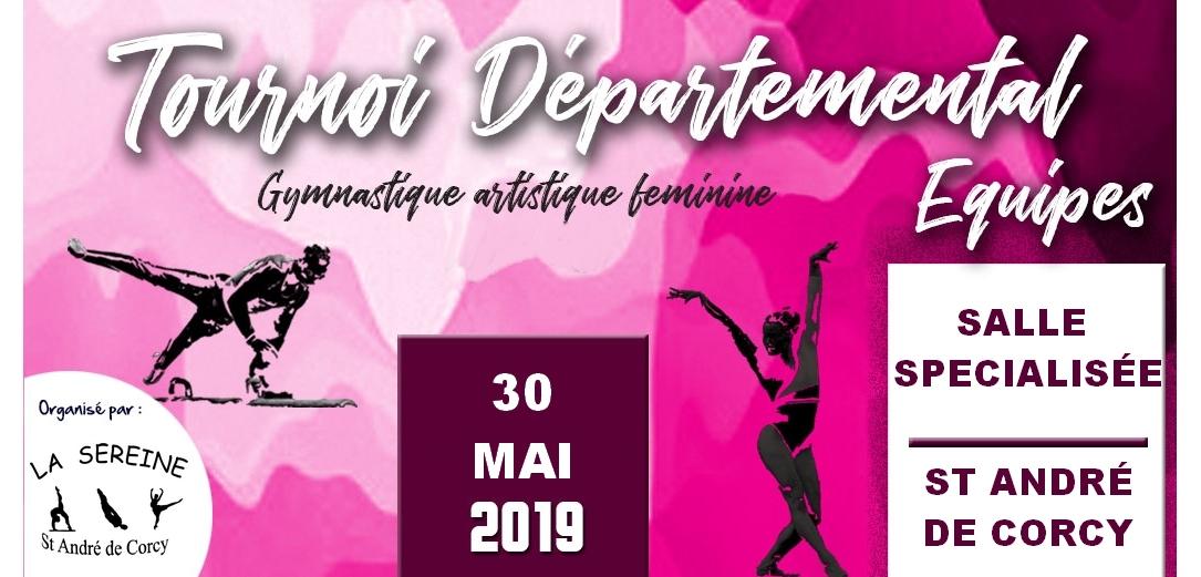 Tournoi departemental 2 GAF à St André de Corcy les résultats