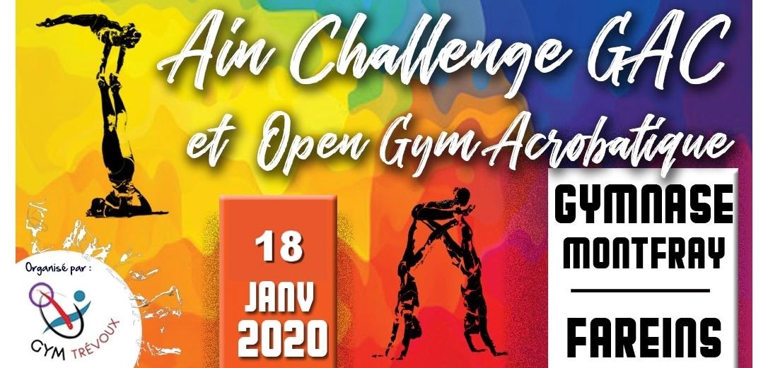 Ain challenge GAC 2020 - Les résultats