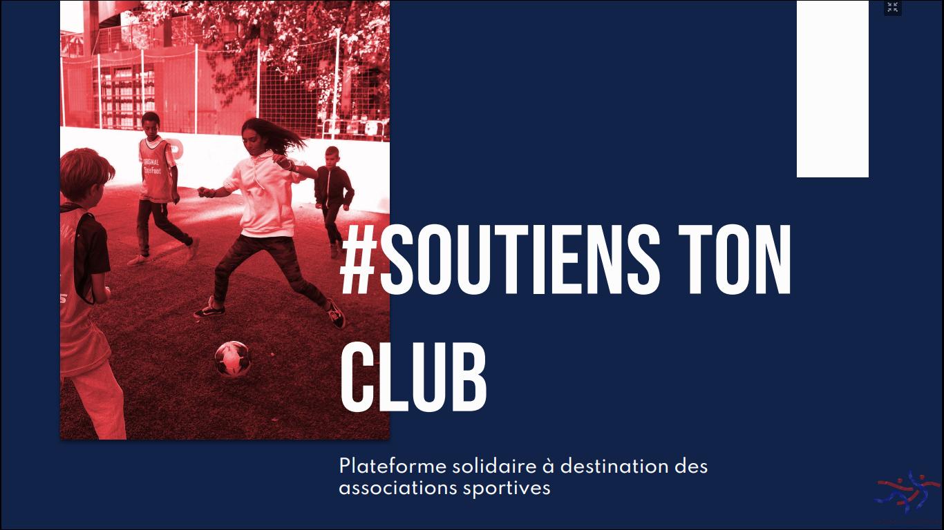 OPERATION DE SOUTIEN FINANCIER DE VOTRE CLUB !!