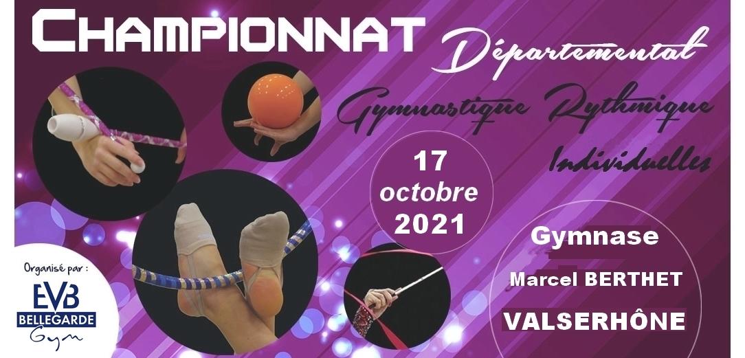 Championnat individuel GR  Valserhône le 17 octobre MAJ