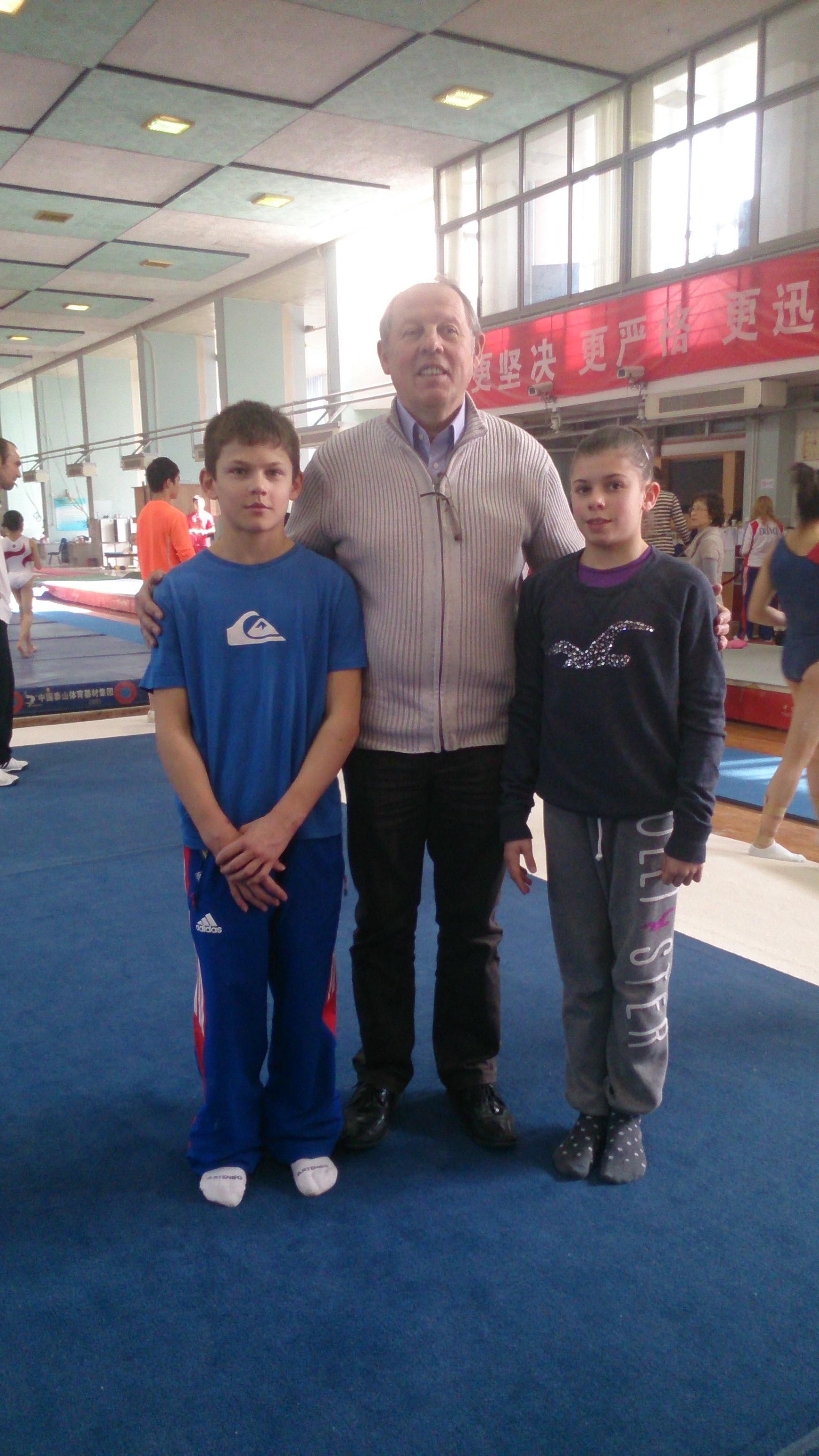 Deux gym de l'Ain à Shanghaï !