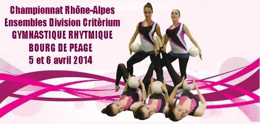 Championnat Régional Ensembles DC - Bourg de Péage - 06 Avril 2014- Résultats